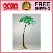 5ft Artificial Lighted Palm Tree 56led Lights Decoration For Homep
