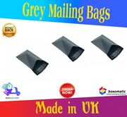 Bags Strong Poly Mailing Postage Postal Quality Self Seal Grey