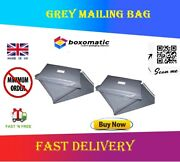 Hot Grey Mailing Bags Strong Poly Postal Postage Post Mail Self Seal
