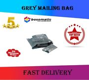 Strong Grey Postal Mailing Post Mail Bags Poly Postage Self Seal