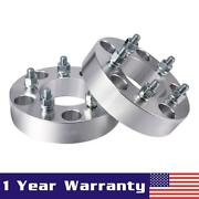 2 5x4.75 |12x1.5 Studs Wheel Spacers Adapters For Chevy Camaro Corvette S10 Hot