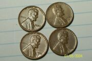 1956/1957--p,d, @ Lincoln Wheat Penny's From Old Rolls