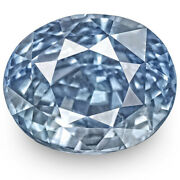 Gia Certified Sri Lanka Blue Sapphire 6.59 Cts Natural Untreated Lustrous Blue