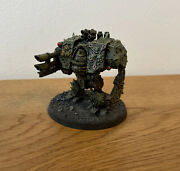 Warhammer 40k - Forgeworld - Chaos Space Marines Nurgle Dreadnought - Painted