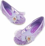 Disney Store Sofia The First Girl Costume Dress Shoes Size 11/12