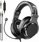 Bopmen Computer Headset With Microphone - Wired Gaming Headphones Boom...