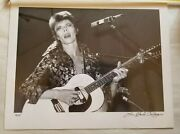 David Bowie By Lee Black Childers 38/75 Andy Warhol Assistant And Photographer