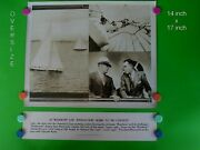 1934 America's Cup Yacht Race - 14 X 17 B And W Dispatch News Photo And Banner