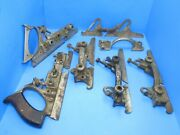 Parts Lot - As-is Stanley 55 Main Frames Bodies And Sliding Sections Need Cleaning