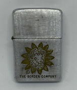 1950andrsquos The Borden Company - Elsie The Cow - Zippo Lighter - Dairy Advertising