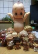 Super Rare From 50 Years Ago Antique Kewpie Dolls Japan Used Ems