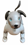 Sony Aibo Ers-1000 Entertainment Robot Dog Ivory White Excellent Condition
