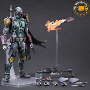 10and039and039 Star Wars Boba Fett Action Figure Collectible Model Character Toys Gift