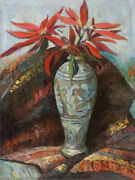 Hand Painted Oil Flowers Paintings On Canvas Size 2020 Inches