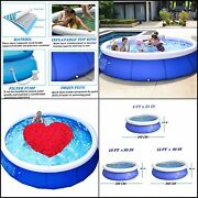 Portable Inflatable Pools With Easy-to-install Top Hoops 8 Ft. X 25 In.