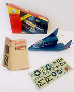 Vintage Gerry Anderson Dyna-soar Glide Friction Rocket 1960andrsquos Hong Kong Rare