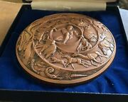 Creation By Marcel Jovine Society Of Medalists 122nd Issue 1990 Copper