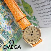 Omega Devil Antique Watches 70 Middle Roman Leaf Needle Women And039s Hand-wound