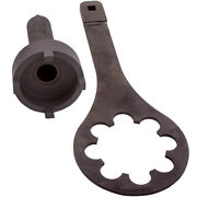 Bearing Carrier Retaining Nut + Spanner Wrench Drive Tools For Mercury Gray