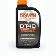 Driven Racing Oil 02406 Dt40 5w-40 Synthetic European Sports Car Oil