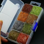 8 Color Dubbing Box Dub Wing Body Trout Nymph Fly Fishing Tying Material Emerger
