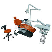 Dental Pu Chair Unit Electric Valve Computer Controlled +dental Assistant Stool