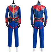 Henry Danger Captain Man Cosplay Costume Halloween Outfit Carnival Suit