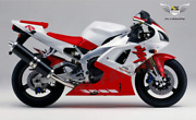 Motocycle Fairing Kit Injection Red White Fit For 1998 1999 Yamaha Yzf R1 M001