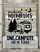 Jawo Camper Rv Shower Curtains For Bathroom Farmhouse Camping Fabric Shower C...