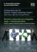 Comparative Law For Spanish-english Speaking Lawyers / Derecho Compardo Para ...