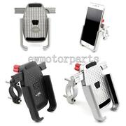 360 Rotation Cell Phone Mount Holder Gps Motorcycle Mtb Bike Bicycle Us Stock