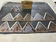 Nos Ford Genuine Tractor And Implement 141113 Serrated Knife Section 9 Total