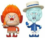 Funko Vynl The Year Without A Santa Claus Heat Miser Snow Miser Collectible V