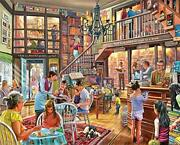 White Mountain Puzzles Local Bookstore Jigsaw Puzzle