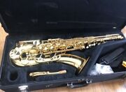 Yamaha Tenor Sax Yts-62 Wind Instrument Good Condition From Japan With Hardcase