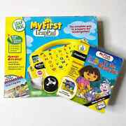 Leap Frog My First Leap Pad School Bus Pad With Dora The Explorer Game New
