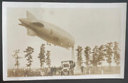 Mint Usa Real Picture Postcard Zeppelin Airship Uss Los Angeles