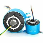 Through Hole Conductive Rotary Slip Rings Electrical Brush Ring Rotating Electri