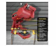 Chicago Electric Chainsaw Chain Grinder 12v 5000rpm Multi-angle Teeth Sharpener