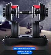 52.5lbs Dumbbell Adjustable Weight Menand039s Fitness Equipment P1
