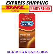 Durex Real Feel Condoms 10and039s X 5 Boxes Free Expedite Shipping