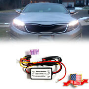 Car Automatic Led Daytime Running Light On/off Switch Module Box Relay Harness