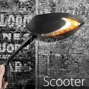 Magazi Lucifer Led Side Mirror Neat Arm Drl Indicator M8 8mm For Piaggio Scooter