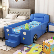Kids Bed Childrenand039s Dream Racing Car Bed Wooden Safe Sleeping Area Bedroom Gift