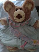 Vintage Selma Jean Xavier Roberts Signed 86'cabbage Patch Doll Possum Queen