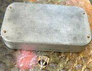 Vintage Richard Wheatley 238 Clip Swing Leaf Trout Fly Box With 184 Flies