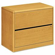 Hon 2drawer Lateral File, 36 By 20 By 2912inch, Harvest