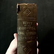 Walter Scott - On The Existence Of Evil Spirits - Jackson And Walford Hb 1845