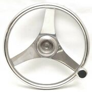 Chaparral Boat Steering Wheel 4161321fgk   Stainless 13 1/4 Inch