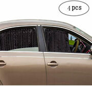 Car Sun Shades - Magnetic Privacy Window Curtain Keeps Cooler Screen For Baby